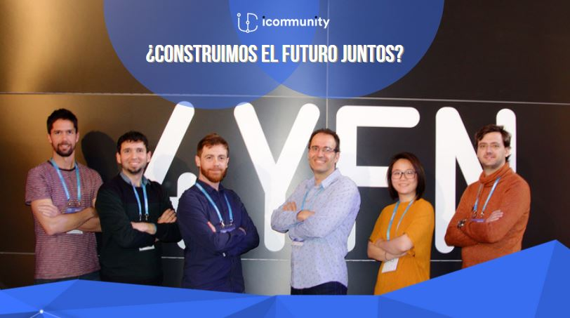 Do you want to join iCommunity? Participate in our ROUND!