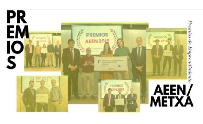 🏆 Winners of the AEEN / METXA Entrepreneurship Awards!