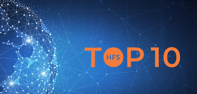"Analysis of the study ""HFS TOP 10 ENTERPRISE BLOCKCHAIN SERVICES 2020"""