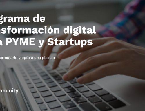Lanzamos programa de transformación digital para PYME y Startups.